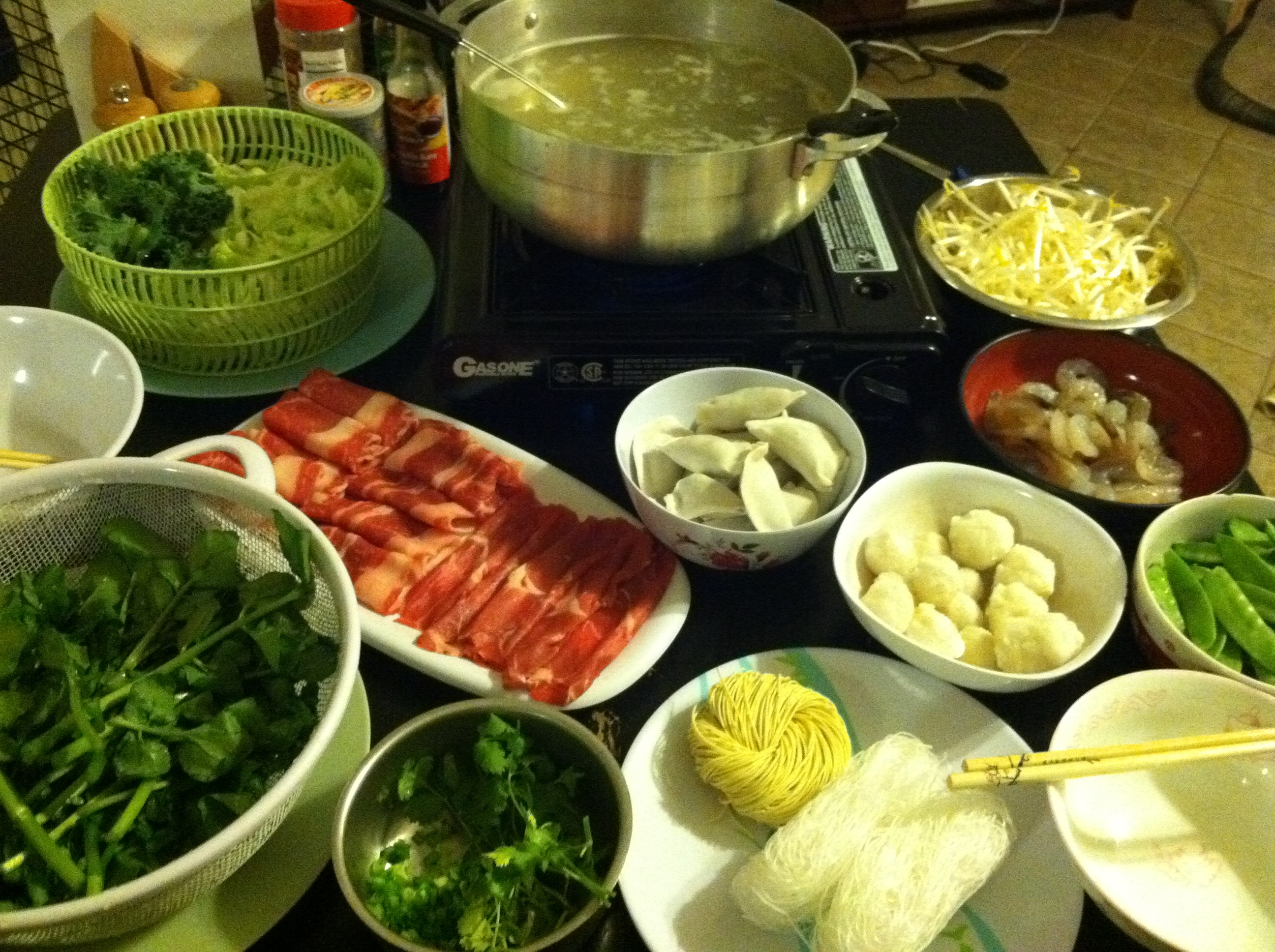 ingredients for soup pho noodle noodle over Since I him a pot of soup he ill, chicken was the made