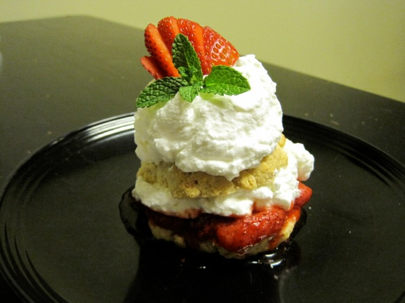 Moscato strawberry shortcake 1