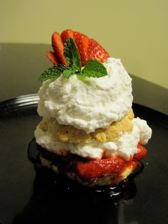 Moscato strawberry shortcake 2