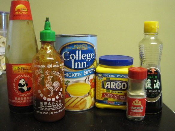 beef stir-fry sauce ingredients
