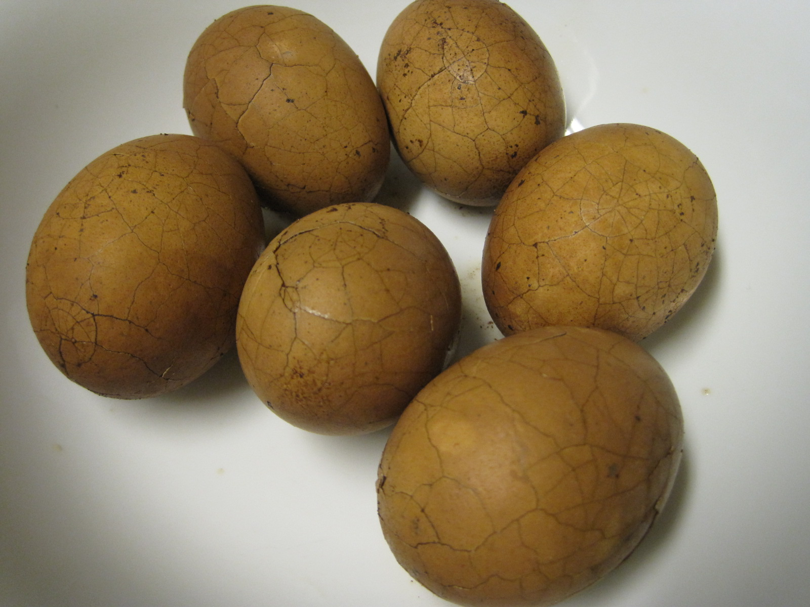 Chinese Marbled Tea Eggs (茶葉蛋) |
